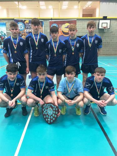 Cadet A Volleyball Winners 2017.JPG