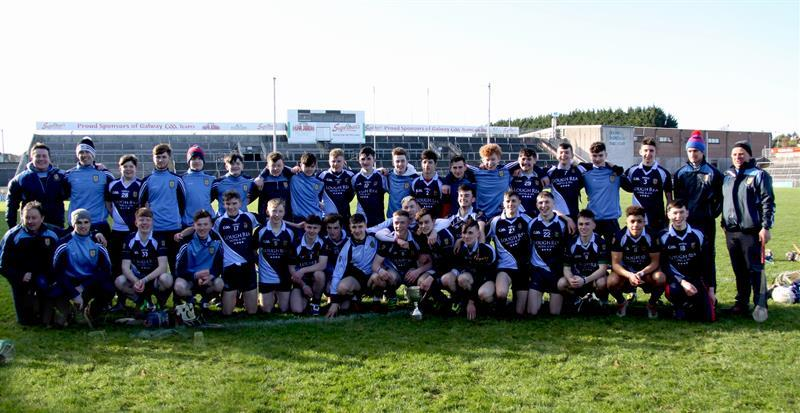 St Brigid's College Loughrea Connnacht Senior A Hurling Champions 2017.JPG