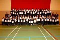 Junior Cycle Profile of Achievement Certificate Presentation