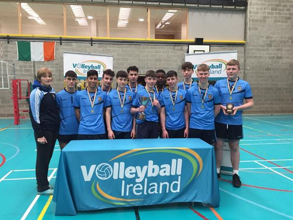 Senior B Boys Volleyball success!