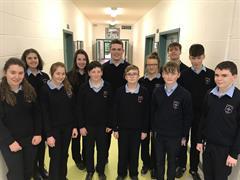 GRETB Gaeltacht Scholarship Winners, 2018
