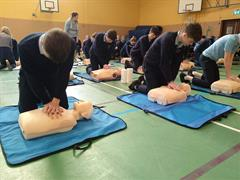 CPR Training @ St. Brigid