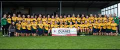 Best of luck to Craughwell Camogie Club tomorrow
