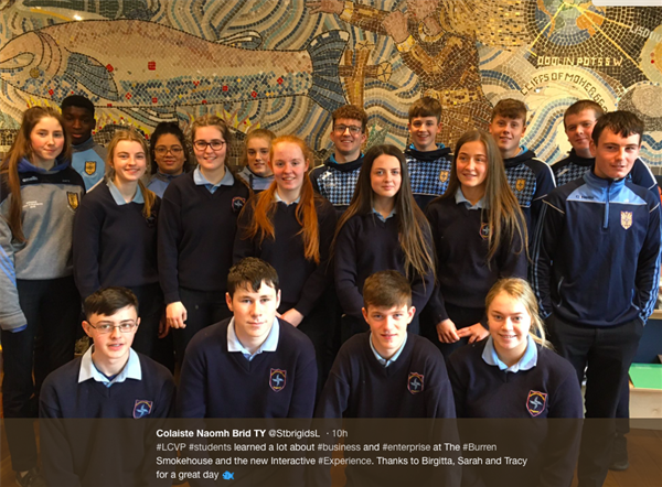 LCVP at St. Brigid's College
