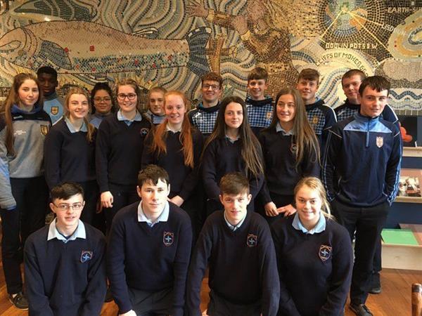 LCVP visit to The Burren Smokehouse