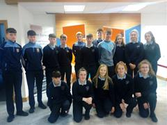 TY students visit Bank of Ireland