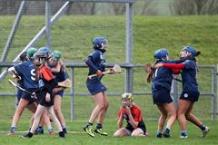 A win for St. Brigid's College today in Ballycastle