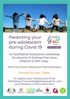 Parenting your pre-adolescent during Covid-19